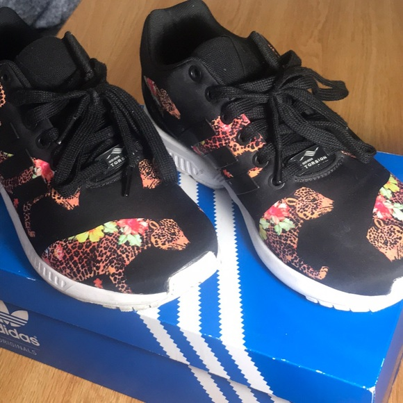 99aa7dfc1 adidas Shoes - Adidas ZX Flux cheetah shoes